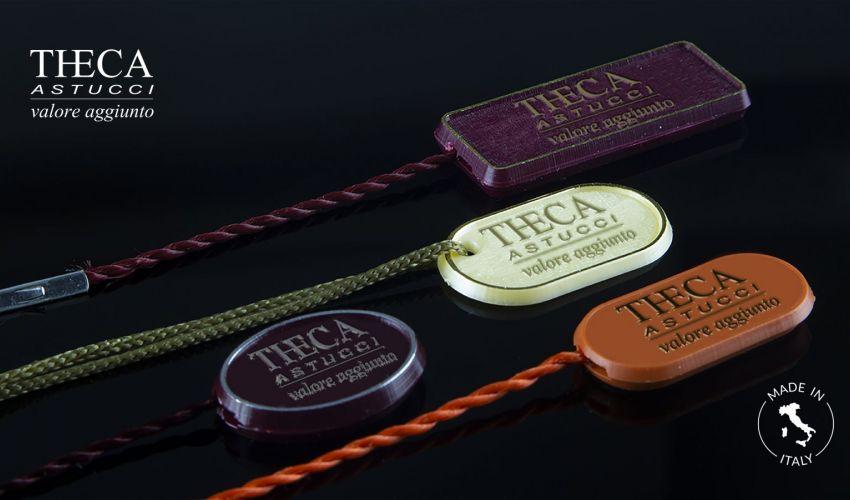 SIGILLO jewelry plastic tags